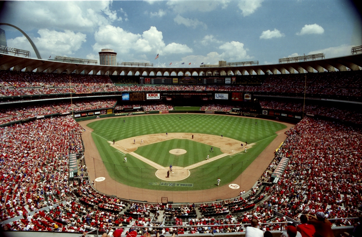 Old busch Stadium